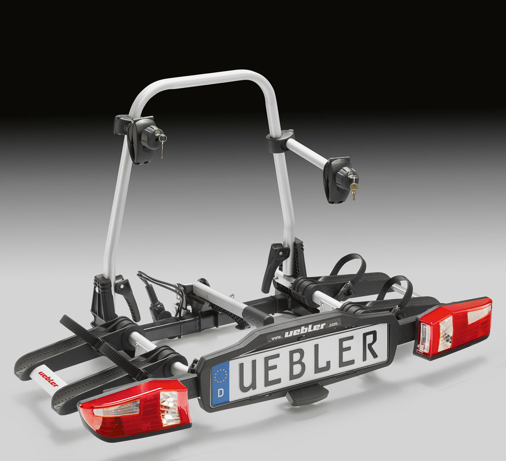 Uebler X21S Fahrradträger Heckträger Faltbar für 2 Fahrräder