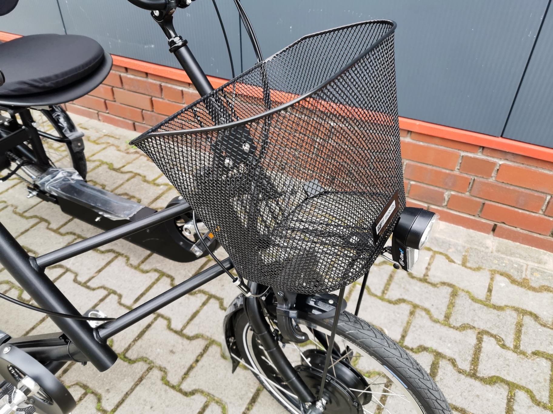 PF DUO Parallel Tandem Sesseldreirad Therapie Elektro Dreirad für Erwachsene