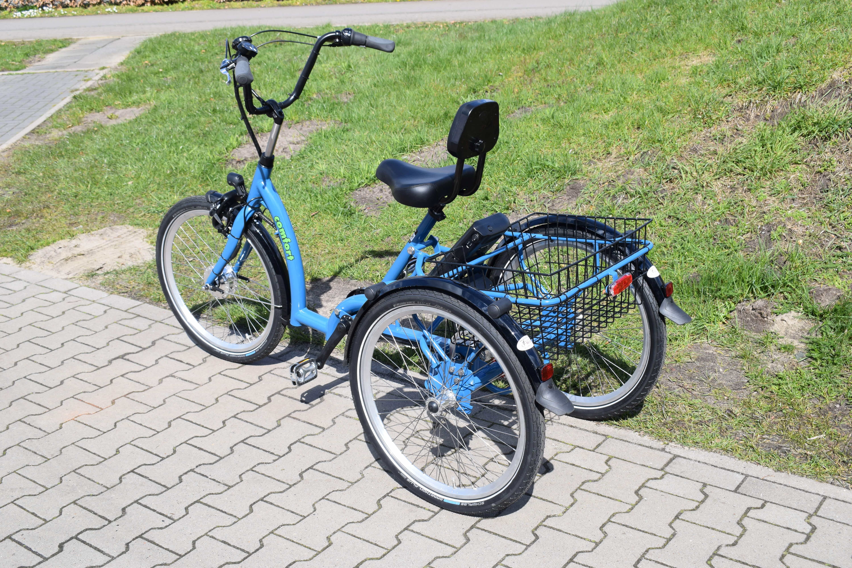 pfautec Comfort FM Dreirad, Therapierad, Elektrodreirad, Fahrrad