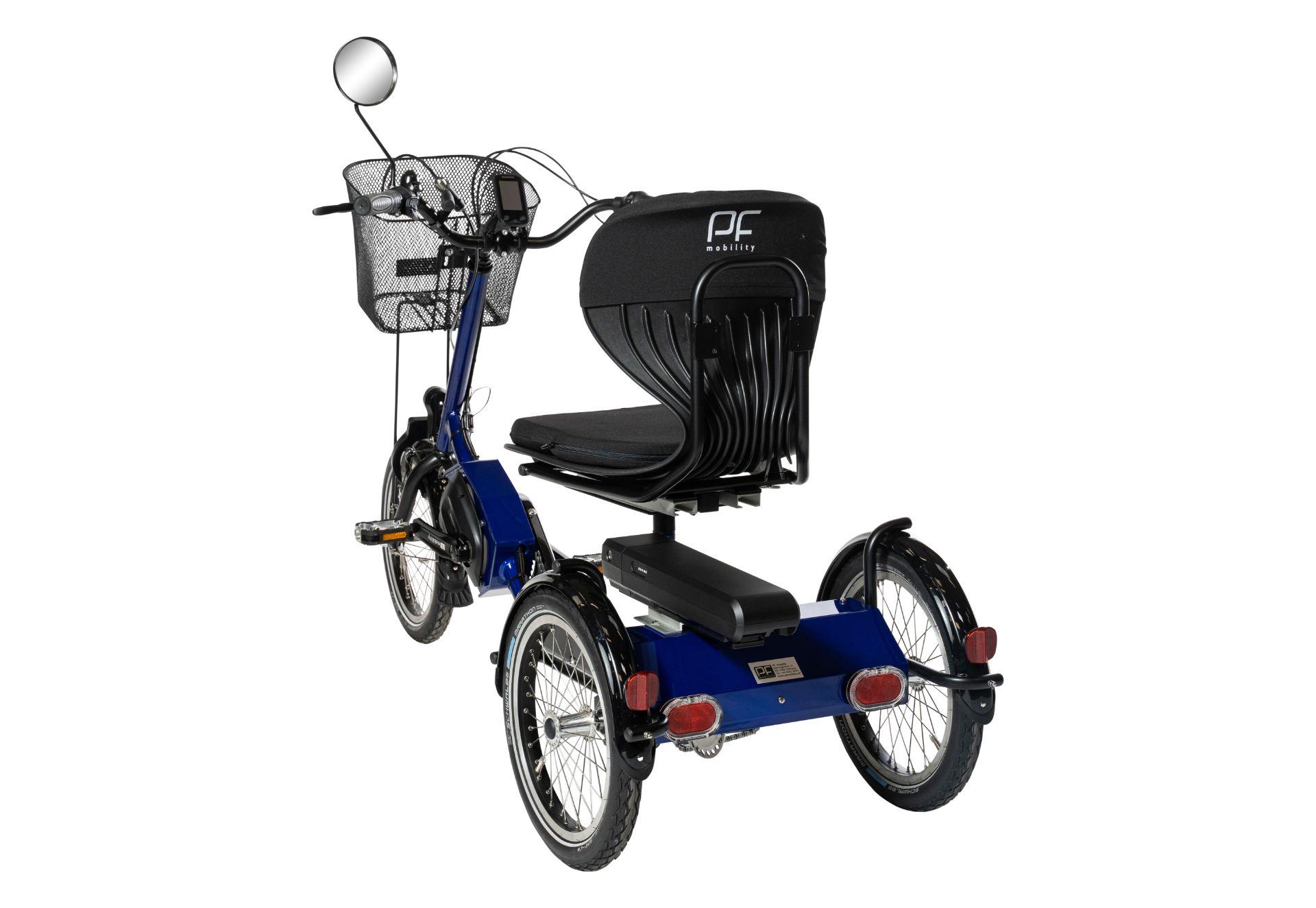 PF Disco Medi Therapie Elektro Dreirad für Erwachsene