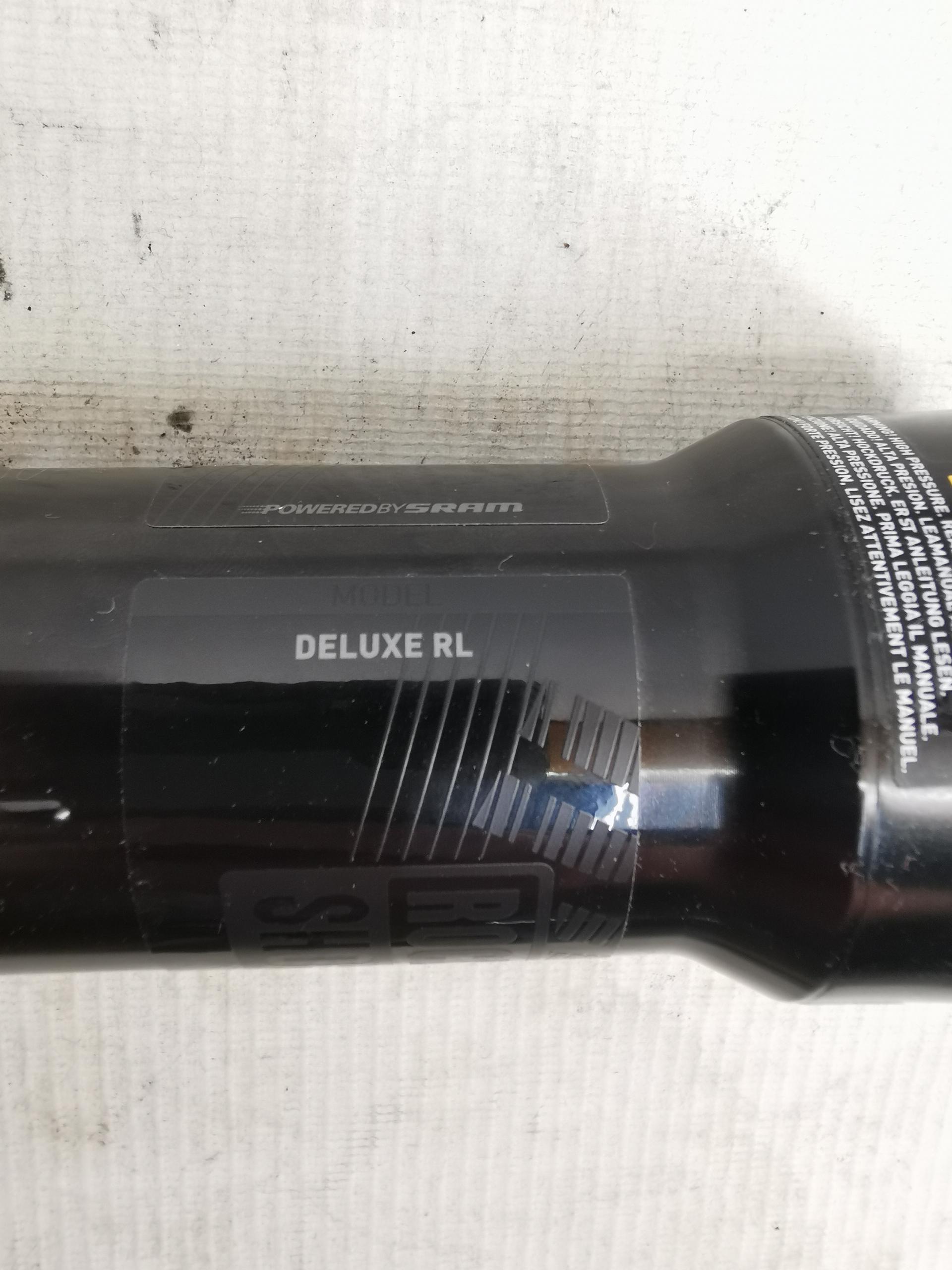 Rockshox Deluxe RL 185 x 50 Trunnion-Dämpfer